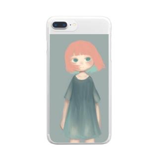 無常 Clear smartphone cases