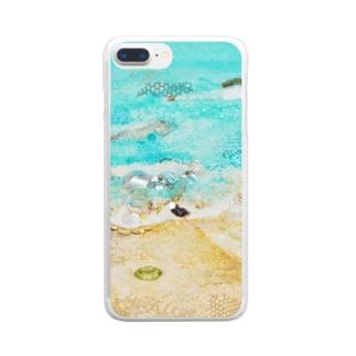 カイルアビーチ Clear smartphone cases