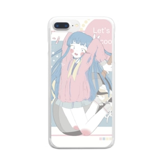 let's cook! Clear smartphone cases
