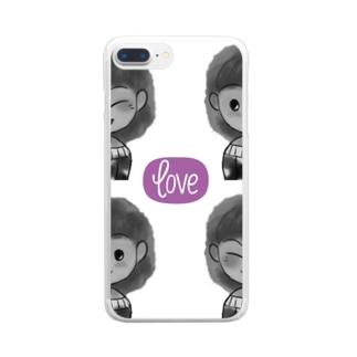 リブログ公式ショップのいろいろノビィ Clear smartphone cases