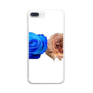 バラちゃん Clear smartphone cases