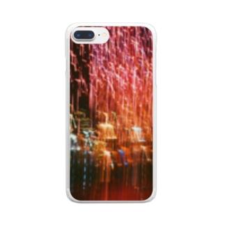 お台場の絶景 Clear smartphone cases