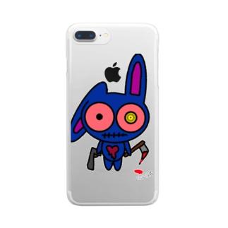 デヴィ Clear smartphone cases