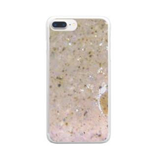 にゃくフォン Clear smartphone cases