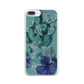 塩素消毒 Clear smartphone cases