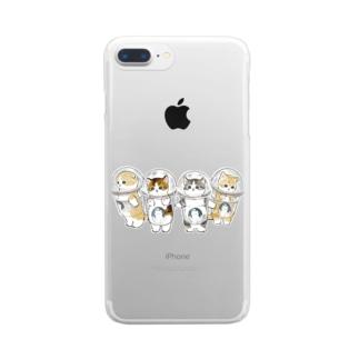 防御力ZERO宇宙服 Clear smartphone cases