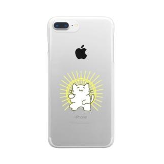 光背 Clear smartphone cases