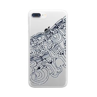 HRBW'S ALL NAME Clear smartphone cases