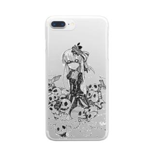 ネクロエッグ Clear smartphone cases