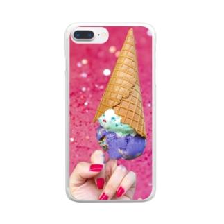 I scream xxxx Clear smartphone cases