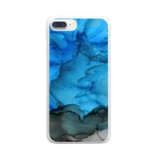 混沌の地 Clear smartphone cases