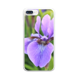 わたしの好きな花 Clear Smartphone Case
