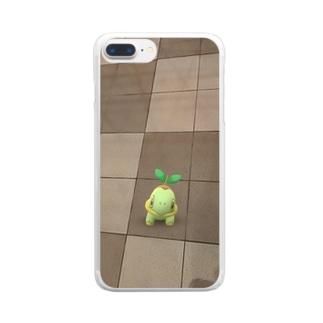 ナエトル Clear smartphone cases