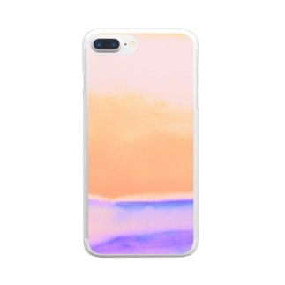 Orange view Clear smartphone cases