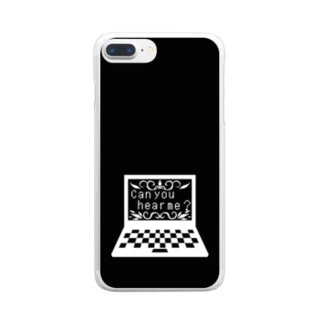 聞こえますか? モノクロ2 Clear smartphone cases