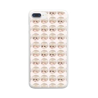 ちぇるまみれ Clear smartphone cases