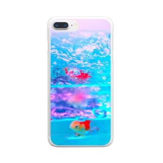 透明金魚 Clear smartphone cases