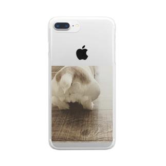 プリっ♡ Clear smartphone cases