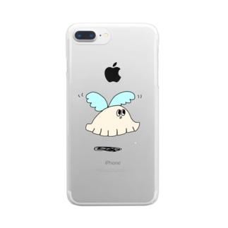 羽餃子 Clear smartphone cases