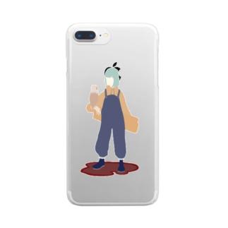煮豆 Clear smartphone cases