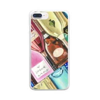 ボトルネック・マトリクス Clear smartphone cases