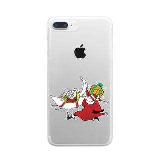 プレゼント Clear smartphone cases