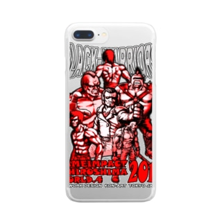 BLACK WARRIORS Clear smartphone cases