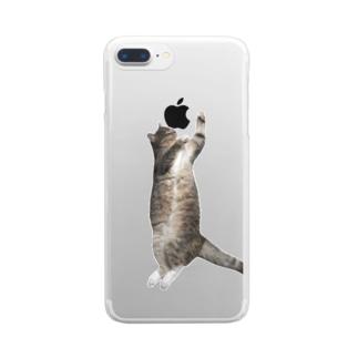 パピコ(盆踊りのすがた) Clear smartphone cases