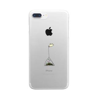 テトラポットバード Clear smartphone cases