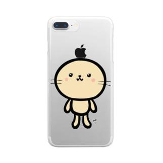 みみなしうさちゃん Clear smartphone cases