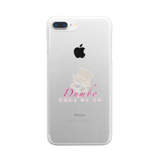 さくらサーカスピエロ🤡ダンボ誕生日限定グッズ販売 Clear smartphone cases