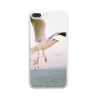 鴎 Clear Smartphone Case