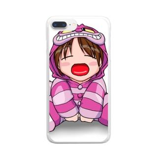 ちぇしゃエレガンス Clear smartphone cases