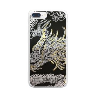 龍神 Clear smartphone cases