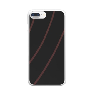 波動 Clear smartphone cases