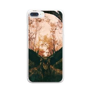 合成獣 Clear smartphone cases