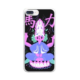 馬力パワーチャージシリーズ Clear smartphone cases