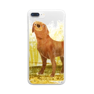 LABRADOR the best dog Clear smartphone cases