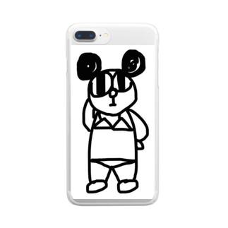 パンタロウス皇子 Clear smartphone cases