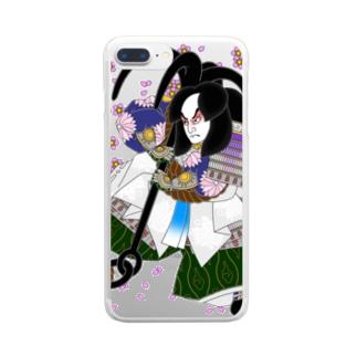 碇知盛 Clear smartphone cases