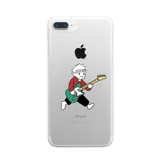 踊るこどもたちの夢はロックスター Clear smartphone cases