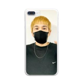みんなの絆の大好き⍤⃝♡\♥︎/ Clear smartphone cases