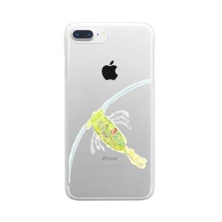 カイアシ Clear smartphone cases