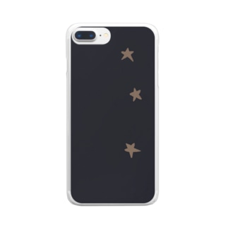 街の星 Clear Smartphone Case