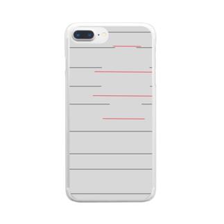 故~yue~ Clear Smartphone Case