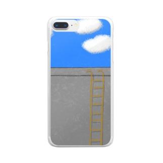 見える物 Clear Smartphone Case