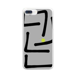 ロジック Clear Smartphone Case