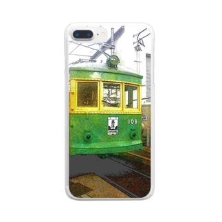 江ノ島電鉄 Clear smartphone cases
