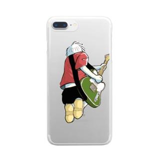踊るこどもたちの大洋の歌 Clear smartphone cases