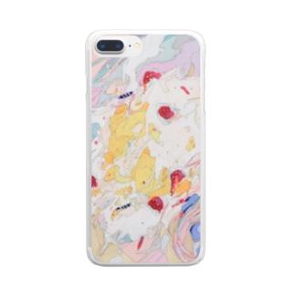 過剰 Clear smartphone cases